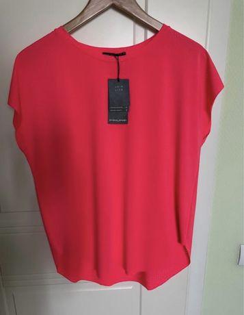 Красная спортивна футболка oysho