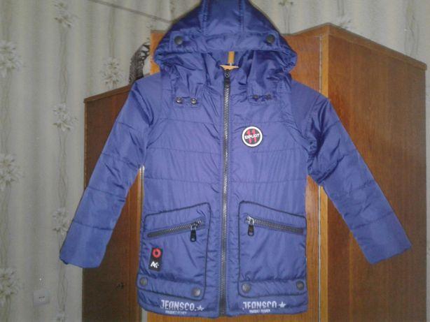 Весенняя куртка для мальчика, на 6 - 8 лет