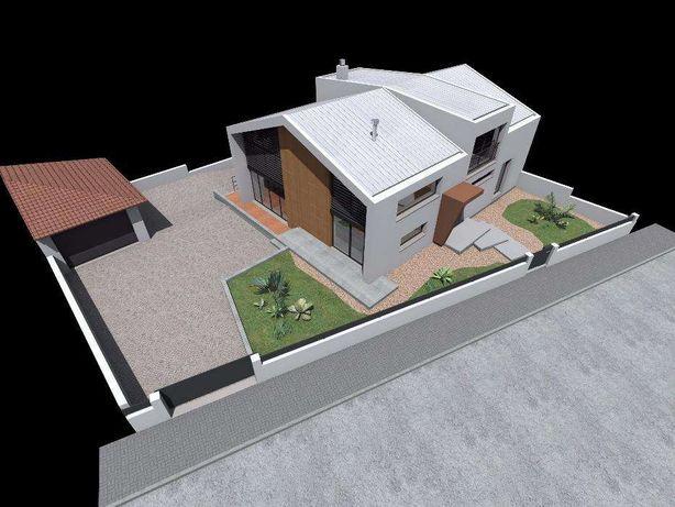 Lote de terreno para moradia unifamiliar, com projeto aprovado