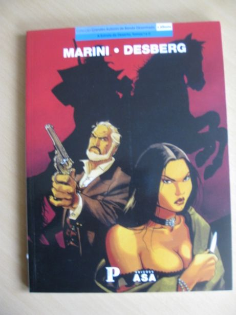 A Estrela do Deserto - Tomos I e II de Marini & Desberg