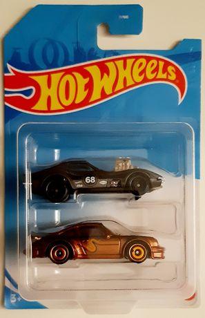 Hot wheels Resoraki porsche corvette