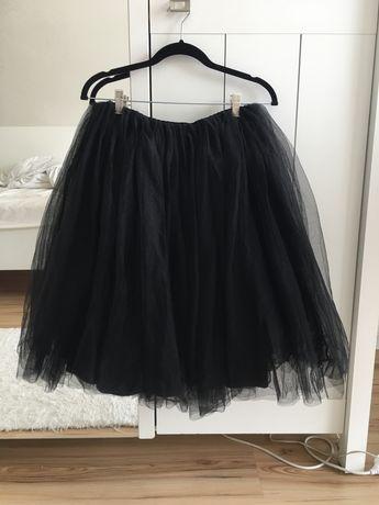 Piękna tiulowa spódnica, balowa, Tally Weijl M czarna