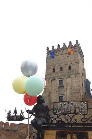 Гелеві кульки, кульки гелієві, шарики с гелием, шары гелій (Італія)