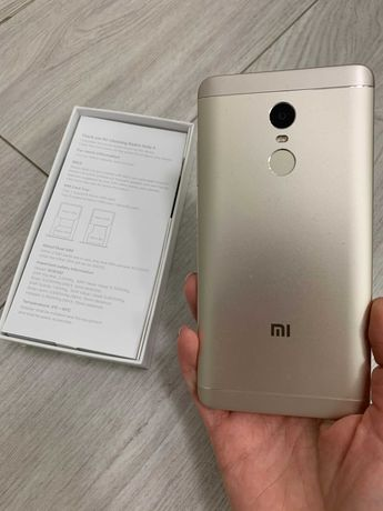 Телефон, Xiaomi redmi note 4x 3/32 Гб полный комплект! Коробка