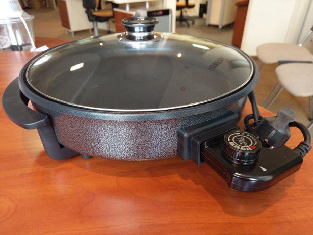 Электро сковорода ORION OR-PZM01 термостат, 34см, крышка, 1500Вт НОВАЯ