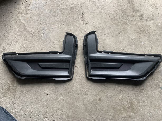 Заглушки ПТФ Nissan Rogue 2018 рестайл