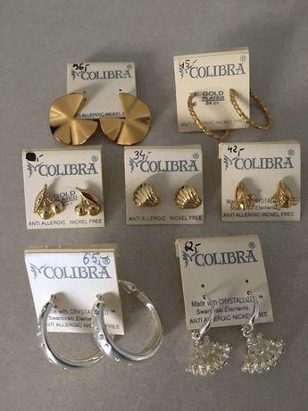 Kolczyki z Colibry