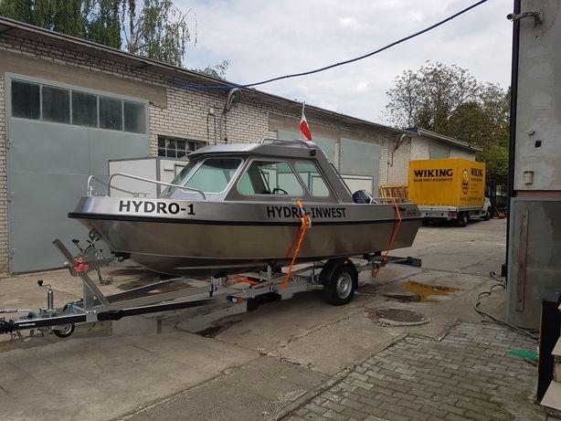 Łódź łódka aluminiowa firmy Gomar