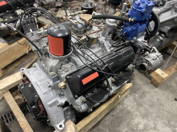 Двигатель Урал 375 (бензин, пр-во ЗИЛ) мотор Зил-130, 131