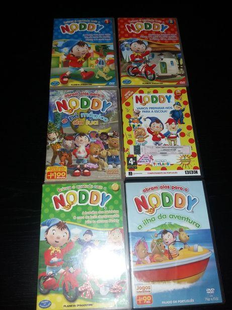 DVDs NODDY 11 unidades