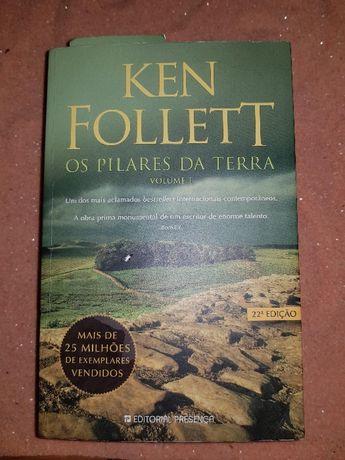 Livro Os Pilares da Terra I - Ken Follett