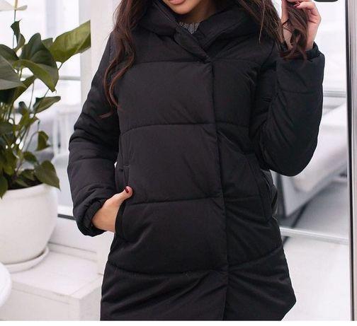 Продам курточку зимнюю  Зефирка размер  42-44 44-46