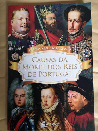 Causas da Morte dos Reis de Portugal, novo embalado.