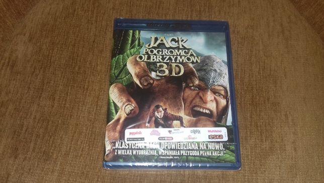 film nowy folia Jack pogromca olbrzymów blu-ray 3d plus blu-ray 2d po