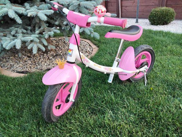 Rowerek biegowy dla dziewczynki różowy Kettler