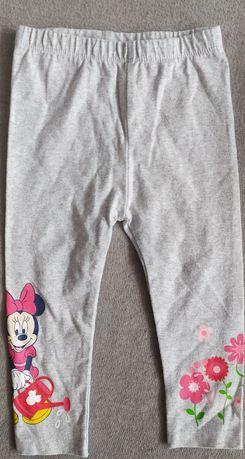 Spodnie legginsy getry dla dziewczynki r.80