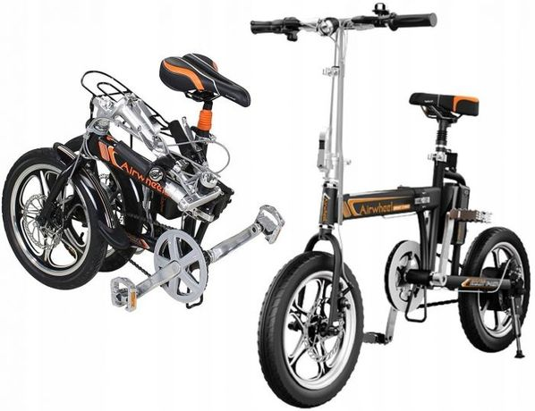 Składany rower elektryczny Airwheel R5 GWAR24 50 km