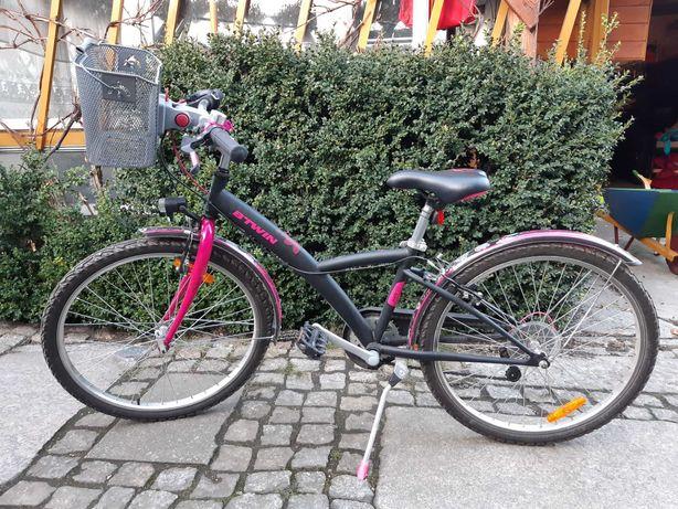Rower B-twin dla dziewczynki