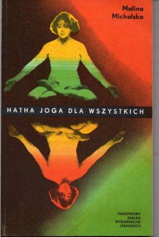 """Книга""""Хатха йога для всех"""". На польском языке."""
