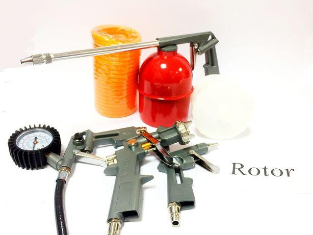 Набор пневмоинструментов LEX набор для компрессора 5 шт. металл Польша