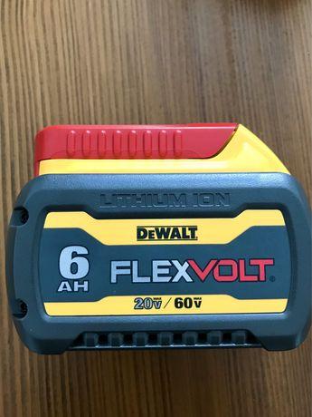 Akumulator dewalt flexvol 6 ah 60v. Nowy usa