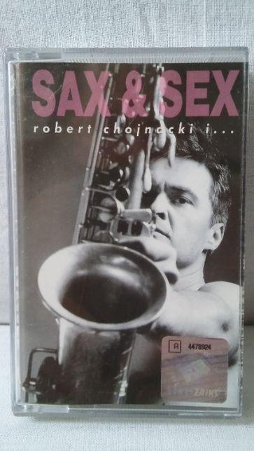 Kaseta magnetofonowa Robert Chojnacki Sax & Sex