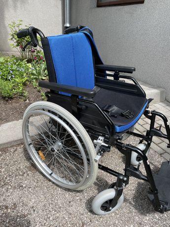 Wózek Inwalidzki - Aluminiowy (używany sporadycznie w mieszkaniu)