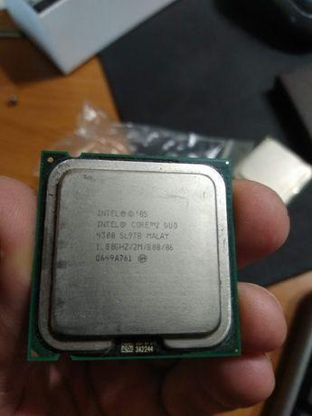 2 ядерные процессоры 775 soket intel e4300, pentium e2220