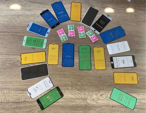 Захисне скло 5D iphone айфон 9D для/на защитное 6/7/8/x/s/r/max