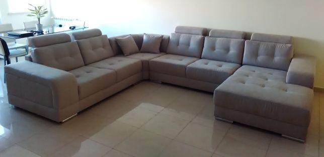 Sofa Canto Luxo com chaise NOVO