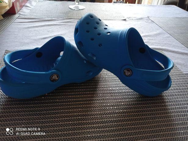 Crocs super klapki 34/35