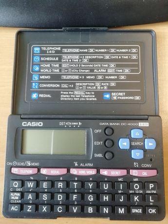 Casio data bank DC-4000