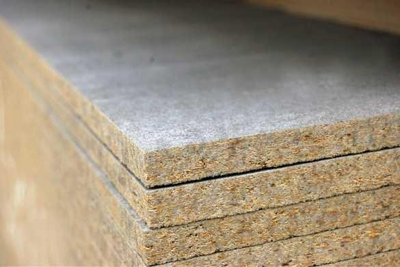 Цементно-стружечные плиты, ЦСП 8, 10, 12, 16, 20 мм