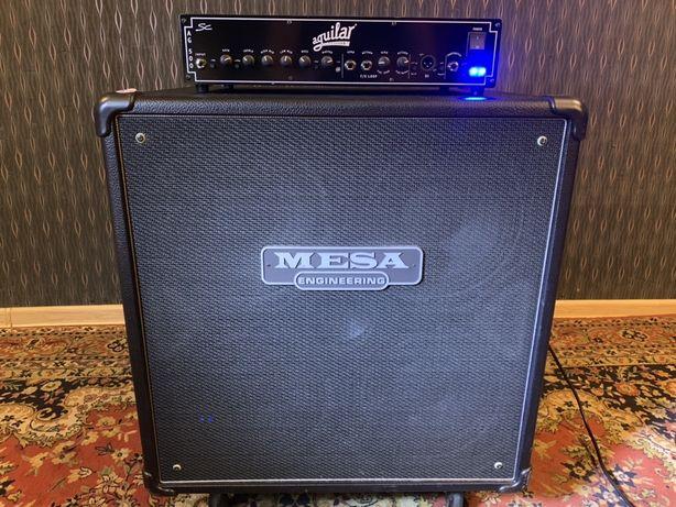Zestaw basowy Mesa boogie vintage powerhouse 4x10 + aguilar AG500 SC