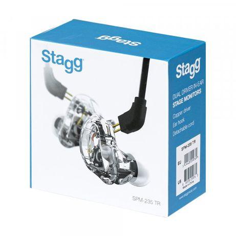 Auscultadores IN-EAR MONITOR Stagg SPM-235 TR