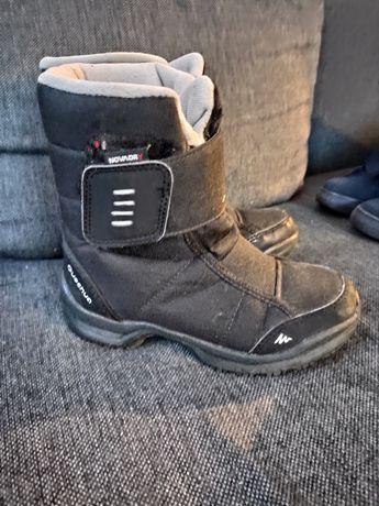 Buty dziecięce śniegowce 32 Quechua