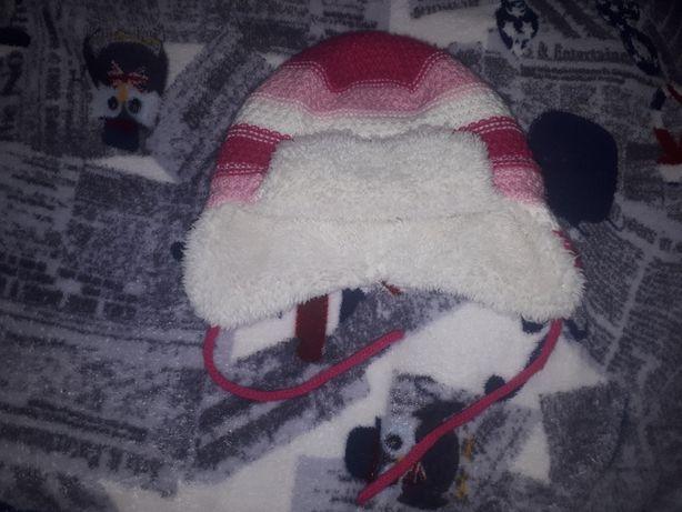 Зимняя шапка Baby Club на годик