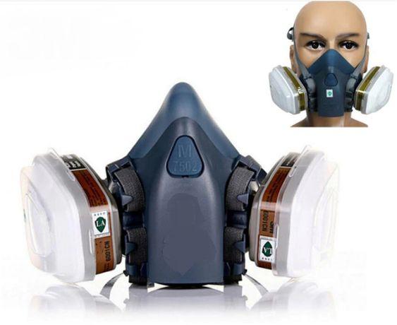 полумаска маска 3М 7502 аналог респиратор 7 в 1