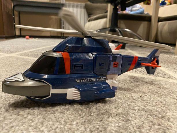 Тобот трансформер вертолет. Оригинал