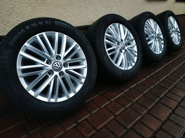 →FELGI VW TOURAN passat b8 GOLF7 1T0 5G0 6,5x16 ET50OEM oryginał NOWE