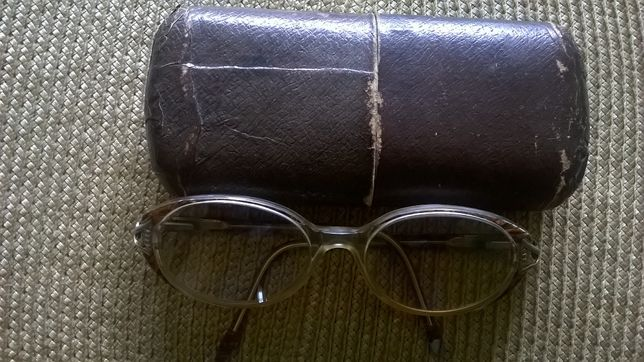 Stare Zabytkowe Okulary z XX wieku - 1988 rok + Etui Gratis.