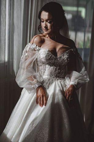 Весільне плаття від Crystal