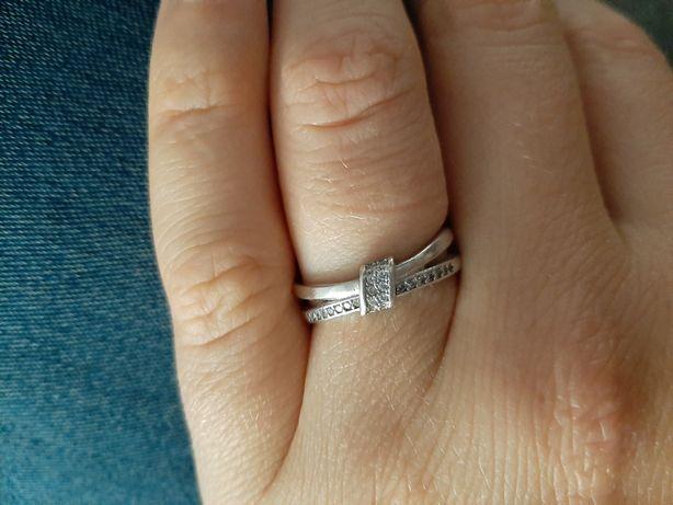 Pierścionek srebrny rozmiar 13 srebro próba 925