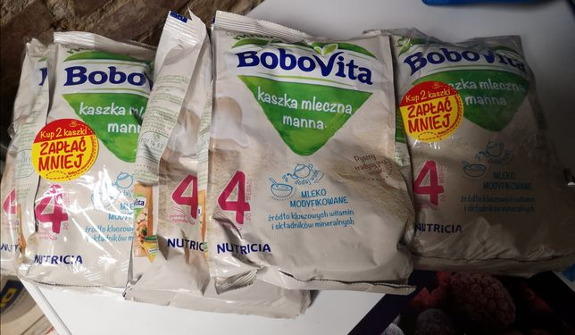 Bobovita kaszka mleczna manna 6 sztuk
