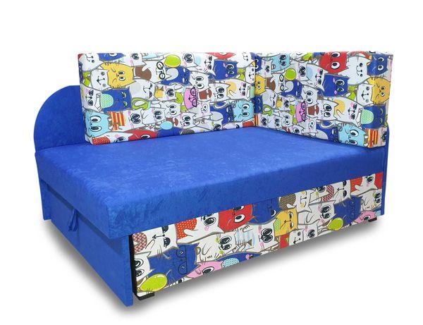 Narożnik dziecięcy, łóżko rozkładane, sofa dla dziecka