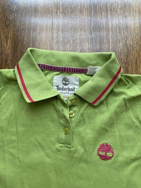 Pistacjowa koszulka polo, rozmiar S TIMBERLAND