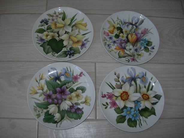 Декор, Цветы, Kaiser, Германия, серия 4шт