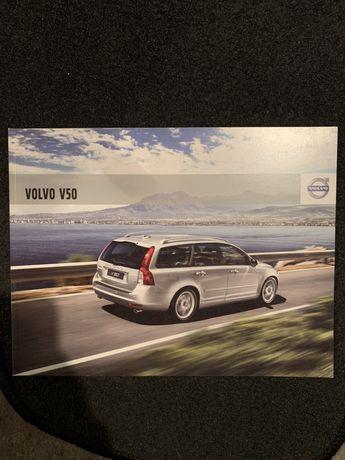 Prospekt Volvo V50