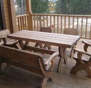 ВНИМАНИЕ!Мебель для бани,сауны,террасы,деревянная мебель,стол садовый