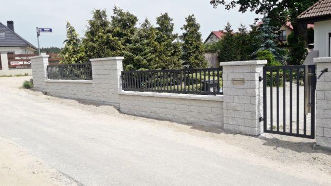 Ogrodzenia-bloczki,przęsła,bramy,furtki-sprzedaż,montaż